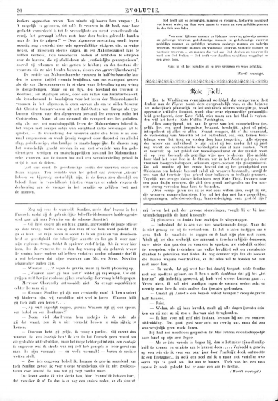 Evolutie, 1 mei 1895 [fragment]