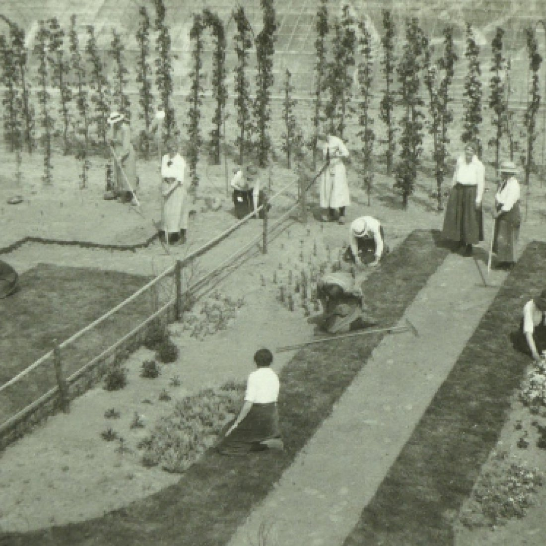 Huis te Lande, eerste tuinbouwschool voor meisjes 2020