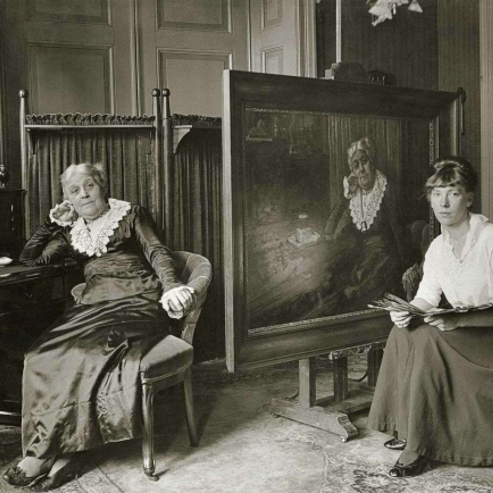 Wilhelmina Drucker poseert, 1917