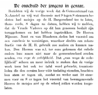 Evolutie, 17 mei 1894 [fragment]